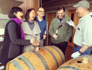 Barrel Tasting with Tom Jones, Owner/Winemaker