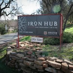 iron Hub Sign