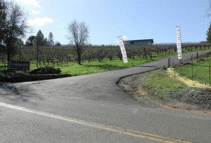 Iron Hub Winery Entrance