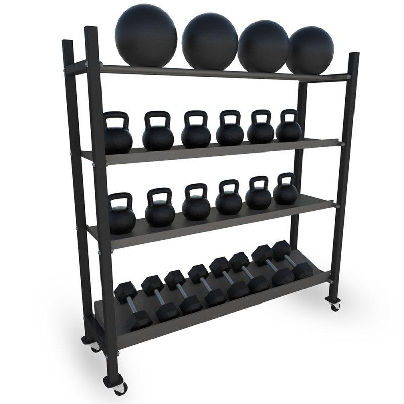 home gym weight storage rack