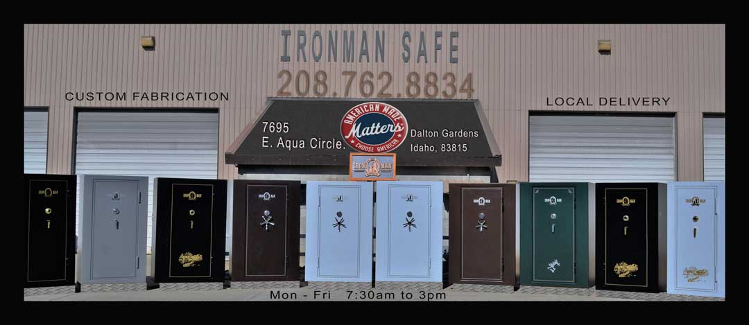 Image of the front of Ironmansafe co.
