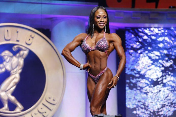 Figure International Winner Latorya Watts