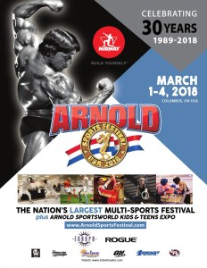 2018 Arnold Sports Festival To Feature 22,000 Athletes From 80 Nations In Record 78 Sports & Events @ Greater Columbus Convention Center | Columbus | Ohio | United States