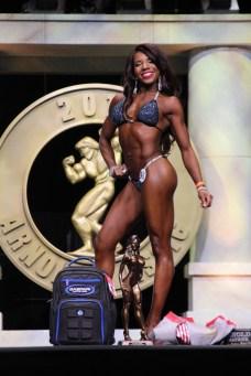 Nadirah Baldwin #96 Masters Bikini Overall Winner