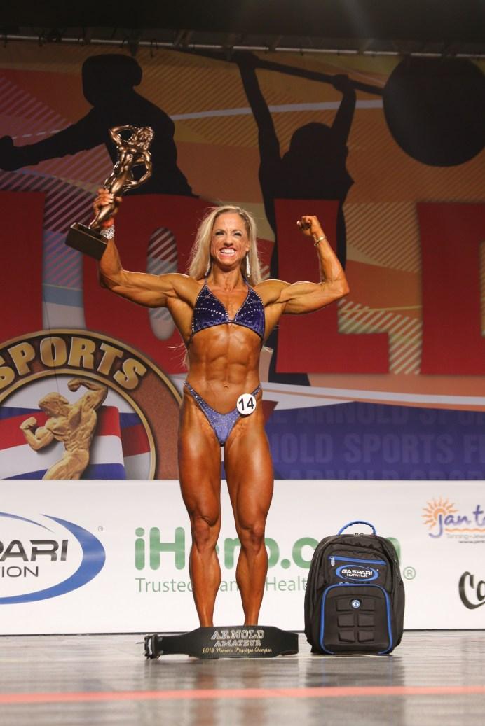 Christelle Zarovska #14 Womens Physique Overall Winner