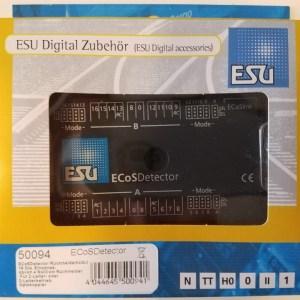 ESU 50094 ECoSDetector Feeback Occupancy 16 Digital Inputs ~ RailCom AC+DC+OVP