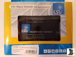 ESU 50096 EcosDetector Standard Block Occupancy Feedback 16 Channels ~ 3 Digit
