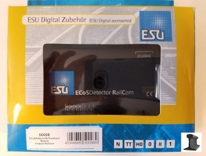ESU 50098 EcosDetector RailCom Feedback Occupancy Detector