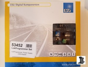 ESU 53452 LokProgrammer Set US 110V ~ USB ~ CD ~ Cable ~ Power Supply