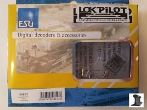 ESU 54613 LokPilot V4.0 DCC Decoder With 6 Pin Plug NMRA NEM651