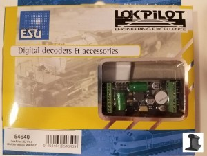ESU 54640 LokPilot XL V4.0 MM/DCC/SX/M4 ~ 8 Outputs With PowerPack
