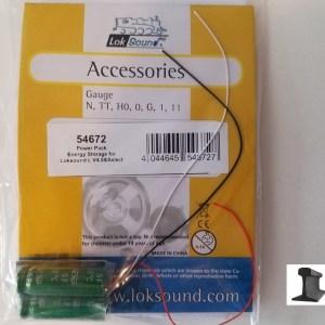 ESU 54672 Powerpack Maxi Energy Storage For Locomotive Sound LV4.0 2x 5F/2.7V