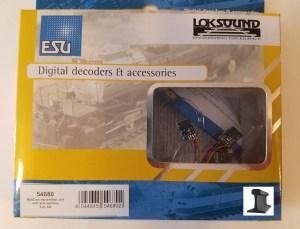 ESU 54680 RailCom Transmitter Unit ~ With Wire Harness ~ 5 Pieces