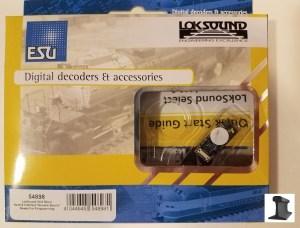 ESU 54898 LokSound Micro V4.0 Next18 Plug With Speaker ~ Factory Sound