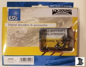 ESU 64400 LokSound V4.0 M4 ~ 8 Pin Plug Harness & Speaker ~ Factory Sound