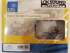 ESU 73400 LokSound Select 8 Pin DCC Sound Decoder