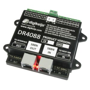 Digikeijs DR4088RB-CS Start Set ~ 32 Channels Occupancy Feedback ~ For ROCO™