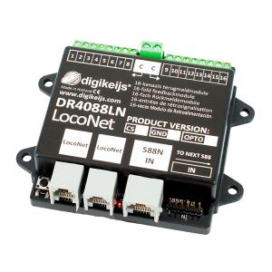 Digikeijs DR4088LN-CS Start Set LocoNet ~ 32 Channels ~ Works With Digitrax