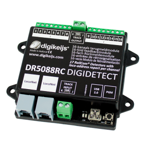 Digikeijs DR5088RC RailCom LocoNet Occupancy Feedback Detector