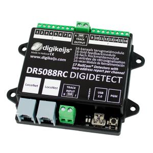 Digikeijs DR5088RC RailCom LocoNet Occupancy Feedback Detector