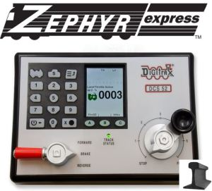Digitrax Zephyr Express Starter Set USA Edition With Power Supply