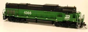 Bowser HO Burlington Northern Alco Century C-636 #4365 DCC Ready 24389