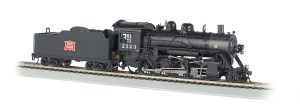 Bachmann HO Rock Island 2123 Baldwin 2-8-0 DC/DCC On Board 51317