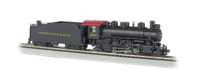 Bachmann HO Pennsylvania #4765 2-6-2 Prairie With Smoke 51528