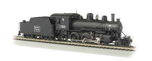 Bachmann HO Boston & Maine #1360 Alco Mogul 2-6-0 DCC Sound 51811