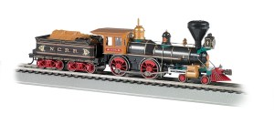 Bachmann HO NCRR The York American 4-4-0 DCC Sound Value