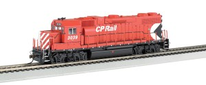 Bachmann HO Canadian Pacific #3039 GP38-2 ~ DC/DCC Sound
