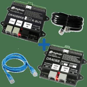Digikeijs DR4088RB-CS Start Set ~ 32 Channels Occupancy Feedback ~ For ROCO™