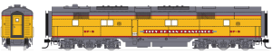 Broadway Limited 3593 N Scale EMD E6 B-Unit UP/C&NW SF-6 P3 Sound/DC/DCC