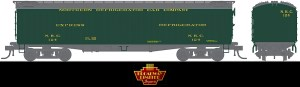 Broadway Limited 1862 HO NRC 53'6″ Wood Reefer ~ 2 Pack 404/378