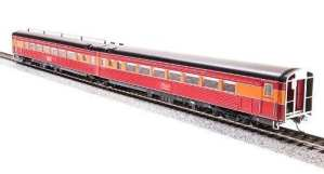 Broadway Limited 1770 HO SP Daylight Articulated Chair Passenger Cars #W2464/M2463
