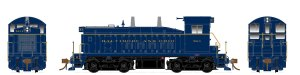 Rapido HO SW1200 B&O #9614 Type A Trucks ESU LokSound DCC 27501