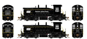 Rapido HO SW1200 Penn Central #9183 Flexicoil DC 27049