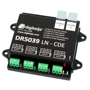 Digikeijs DR5039 LocoNet To CDE Adapter ~ Works With Digitrax, Lenz, Roco, Etc…