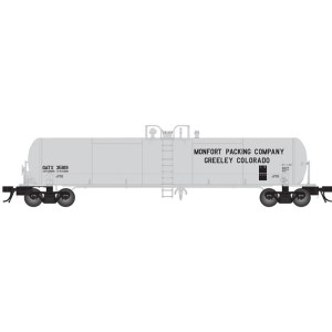 Atlas HO 20,700 GAL GATX Tank Car Monfort Packing #35816