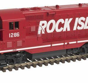 Atlas HO Rock Island RI GP-7 Gold #1208 Factory ESU LokSound DC/DCC 10002046 New