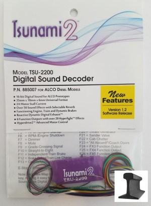Soundtraxx Tsunami 2 ~ TSU-2200 Alco Diesel Sound Decoder ~ 885007
