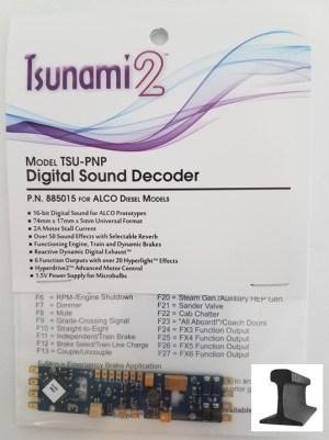 Soundtraxx Tsunami 2 TSU-PNP Alco Diesel Sound Decoder ~ 885015