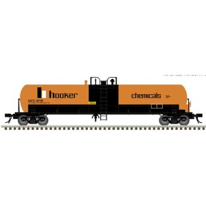 Atlas HO Hooker Chemical 20,700 GAL Tank Car #10735