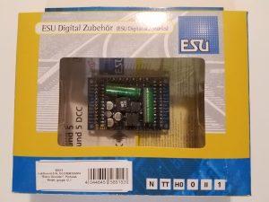 ESU 58515 LokSound V5.0 XL DCC/MM/SX/M4 Sound Decoder ~ Multi-Pin Connector