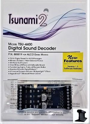 Soundtraxx Tsunami 2 ~ TSU-4400 ALCO Diesel DCC Sound Decoder 4 Amp ~ 885019