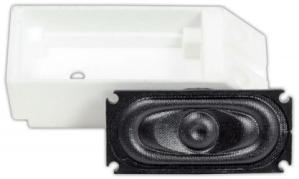 TCS WOWSpeaker ~ GEN-SH1 Kit ~ 35mm x 16mm Oval Speaker & Enclosure ~ WOWSpeaker ~ 1700