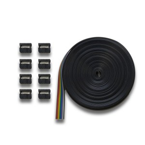 Digitrax SDCK Signal Driver Cable Kit ~ 30′ ~ 8 10-Pin Connectors