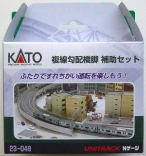 Kato N Scale UniTrack Double Track Viaduct Incline Auxilary Pier Set (20 pcs) 23-049