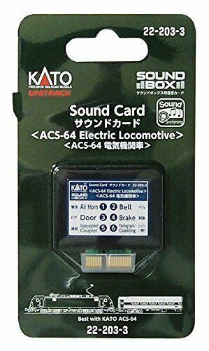 Kato ASC-64 Electric Locomotive Soundcard for Sound Box 22-203-3