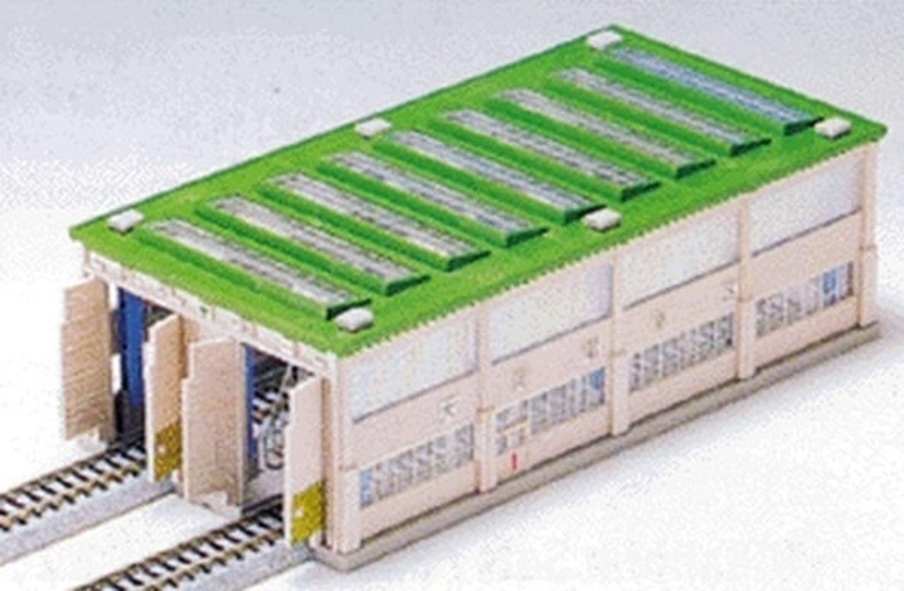 Kato N Scale UniTrack 2 Stall Long Engine House 23-300 N Scale Engine House Plans on ho scale modern house, n scale micro layouts, n scale bridge, n scale machine shop, n scale building, n scale paper models, n scale observation tower, n scale factory, n scale warehouse, n scale turntable, n scale mill, n scale model houses, n scale steam engines, n scale barn, n scale ice house, n scale water tower, n scale school house, n scale depot, n scale tunnel portal, n scale lighthouse,